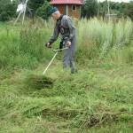 34 Покос травы, бурьяна 3) фото