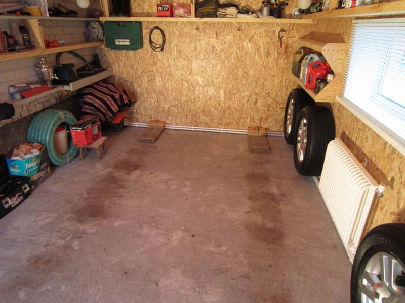 Недорогой ремонт гаража своими руками
