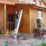 40 Покраска домов 1) фото