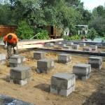 Столбчатый фундамент в Кимрах