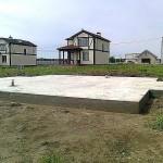 Монолитный фундамент в Кимрах